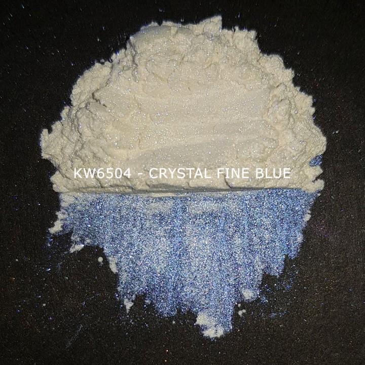 Индустриальный пигмент KW6504 Crystal Irisated Fine Blue (Голубой), 10-60 мкм