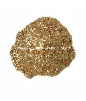 KW6688 - Золотой, 200-700 мкм (Super Sparkle Gold)