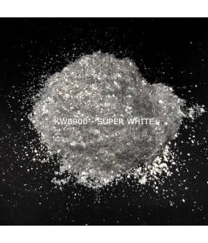 KW8900 - Серебристо-белый, 200-1000 мкм (Super White)