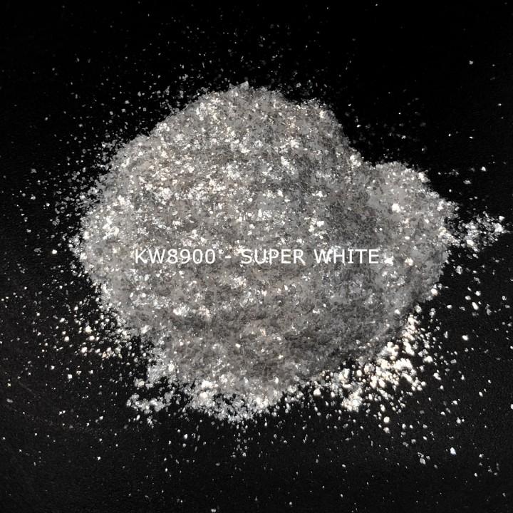Индустриальный пигмент KW8900 Super White (Серебристо-белый), 200-1000 мкм