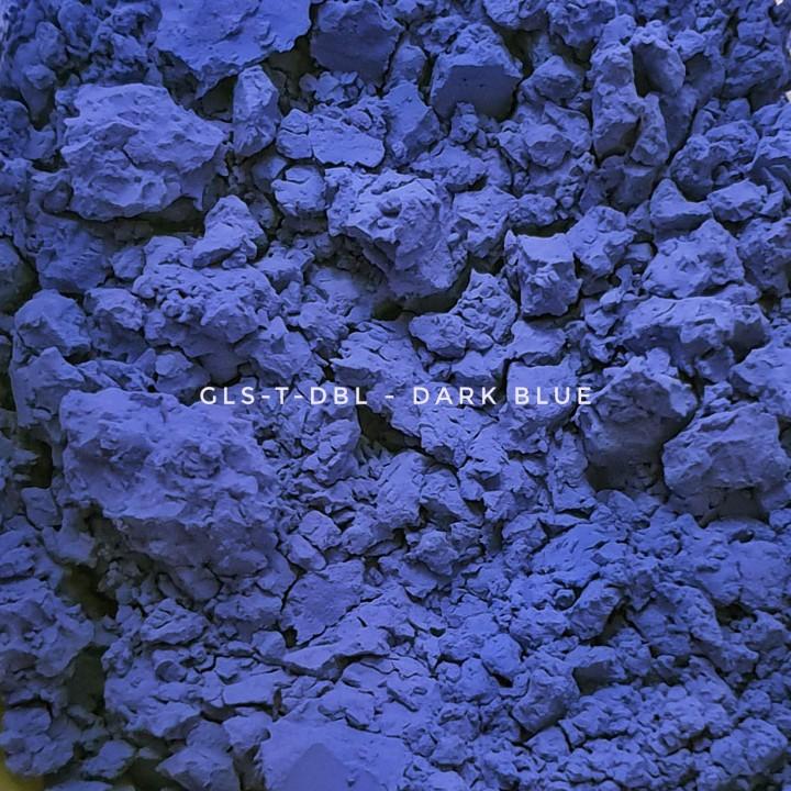 Универсальный пигмент GLS-T-DBL25 Deep blue 25 (Темно-синий 25), 3-10 мкм
