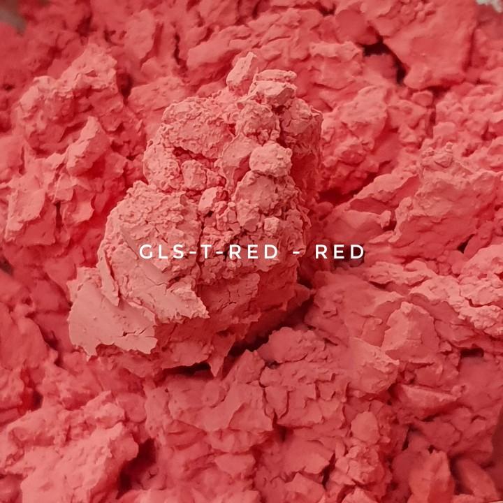 Универсальный пигмент GLS-T-RED25 Red 25 (Красный 25), 3-10 мкм
