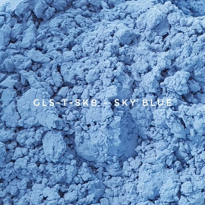 Универсальный пигмент GLS-T-SKB35 Sky blue 35 (Голубой 35), 3-10 мкм