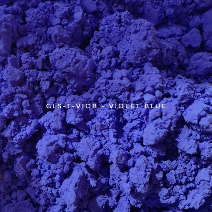 Универсальный пигмент GLS-T-VIOB25 Violet blue 25 (Фиолетово-синий 25), 3-10 мкм